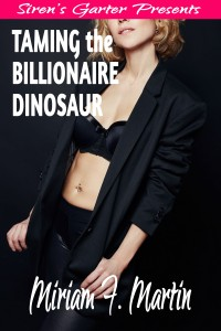 Taming the Billionaire Dinosaur_COVERv1